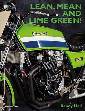 Racing with Kawasaki V2-Front Cover-Sept