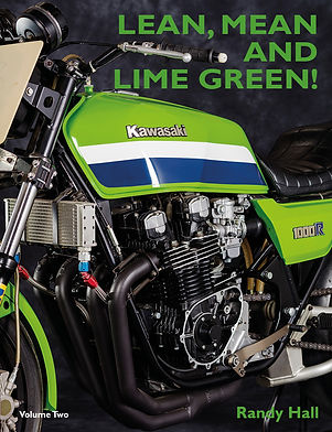 Racing with Kawasaki V2-Front Cover-Sept