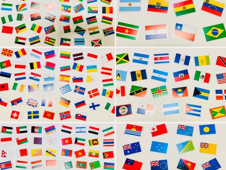 ㊗️こどもの日 「世界国旗チャレンジ」World Flags Challenge!