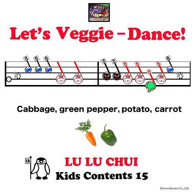Let's Veggie-Dance! / 「野菜の歌体操」英語版