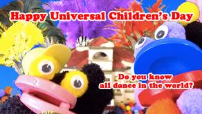 Happy Universal Children's Day  祝「世界子どもの日」
