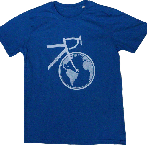 Cycling Keeps the World Turning - Blue