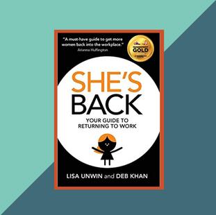 Book: She's Back by Deb Khan and Lisa Unwin
