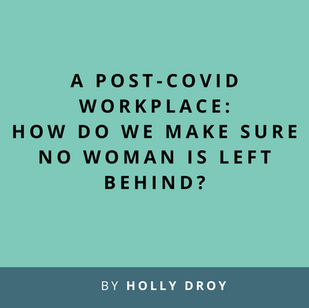 Article: A post-COVID workplace for women