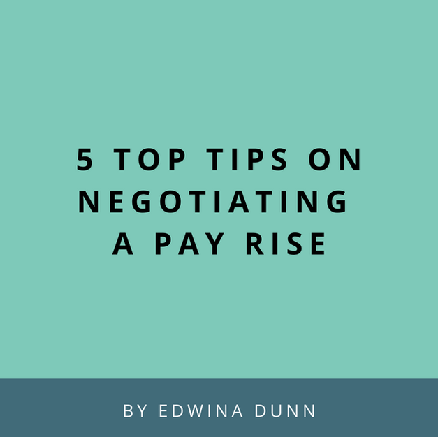 Article: Negotiating A Pay Rise