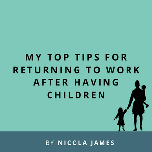 Article: Tips on returning to work after having children