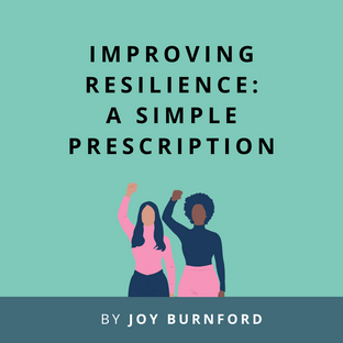 Article: Improving Resilience: A Simple Prescription