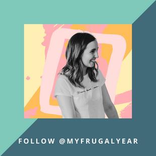 Follow @MyFrugalYear