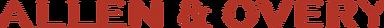 A&O red logo - transparent background -