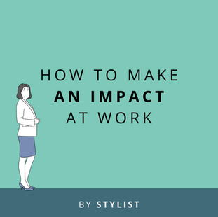 Article: How to make an impact at work