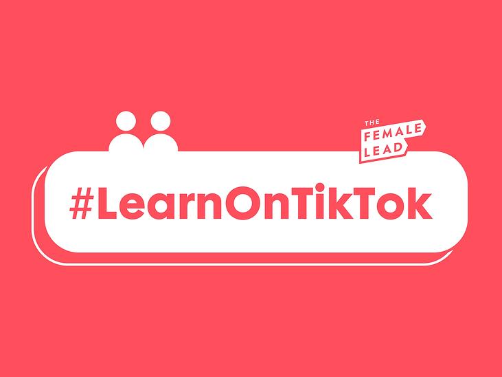 Illustration banner - TikTok #LearnOnTik