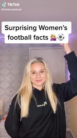 Surprising women's football facts!