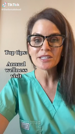 5 TOP TIPS: Annual wellness visit