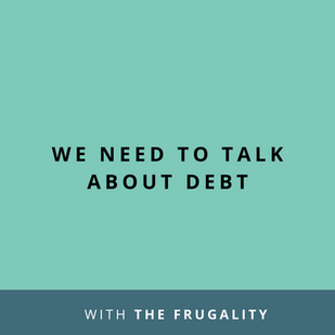 Article: We Need To Talk About Debt