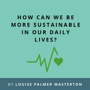 Article: How can we be more sustainable in our daily lives?