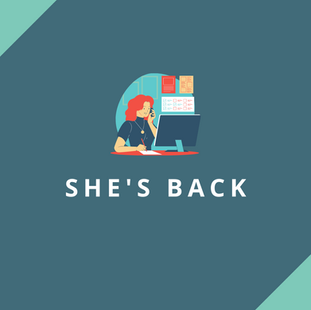 Website: She's Back - Training and Coaching