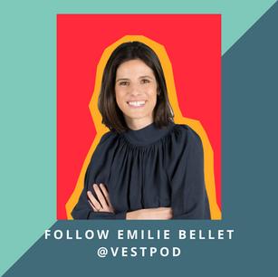 Follow Emilie Bellet @Vestpod