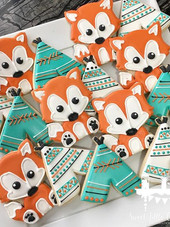 Teepees and foxes for a fun first birthd