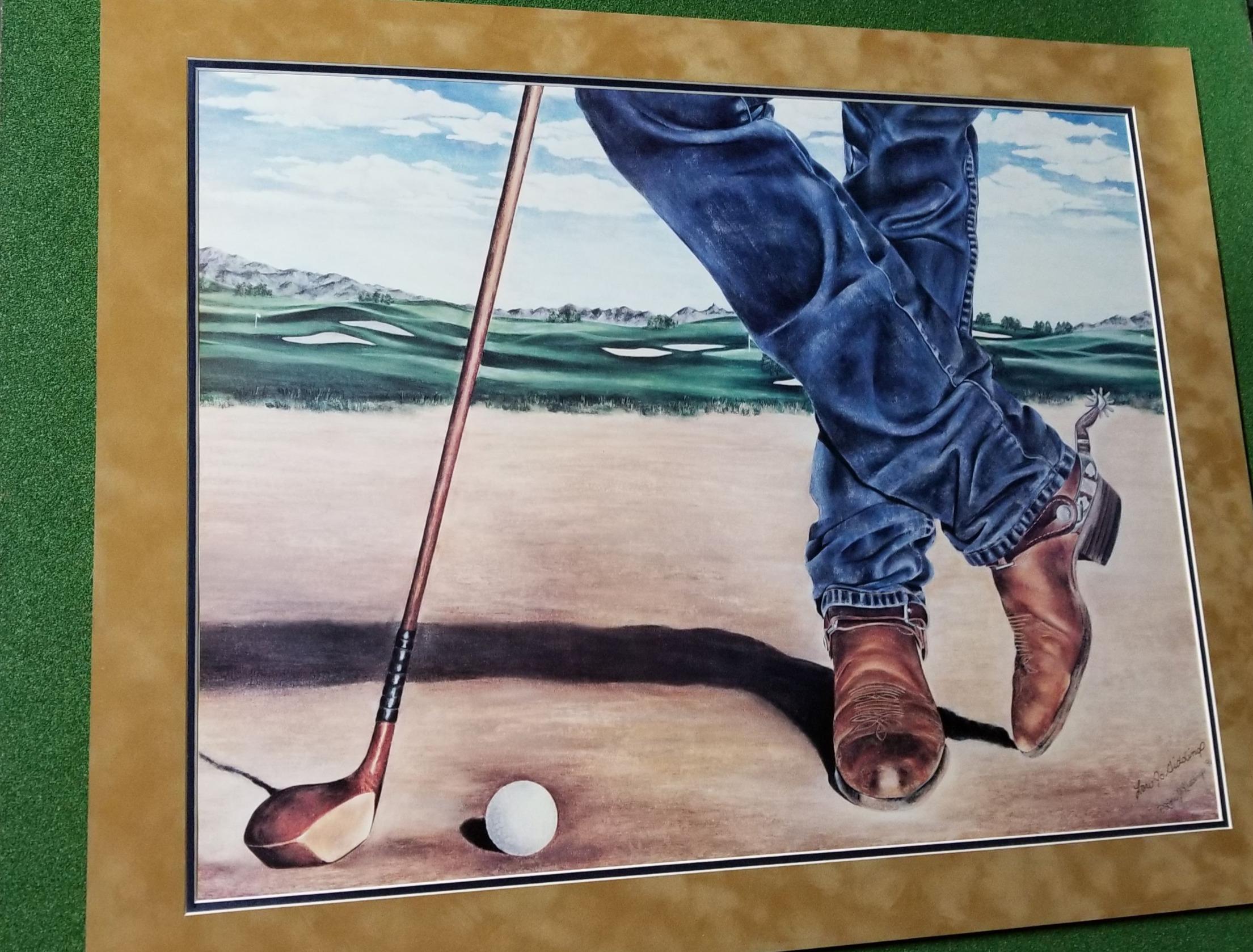 Cowboy Golfer
