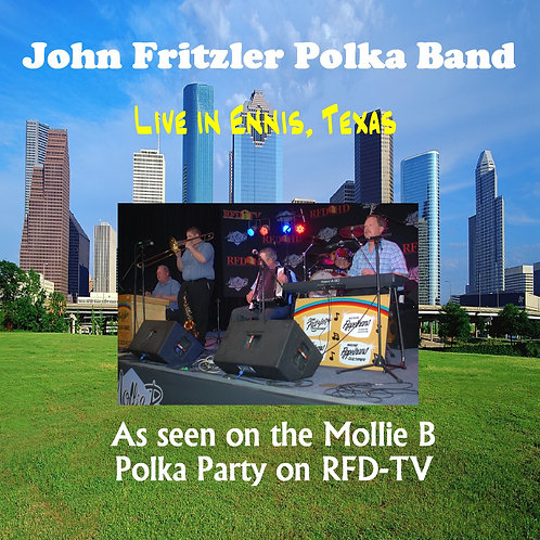 John Fritzler Polka Band Mollie B Polka Party DVD