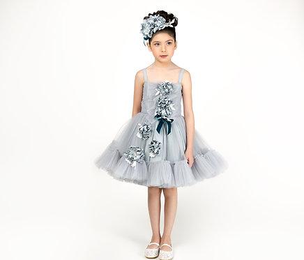 Ash Ruffled Dress