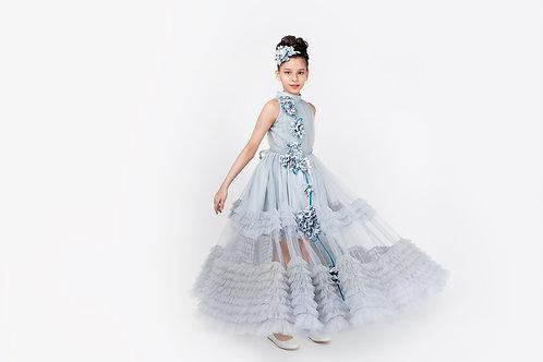Ash Ruffled Maxi Dress