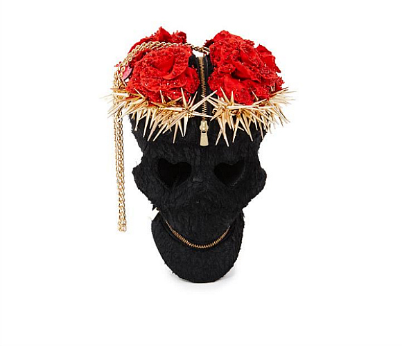 Manish Arora goth-skull-bag