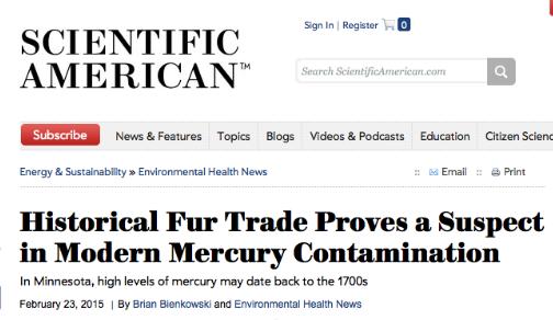 toxic fur trade