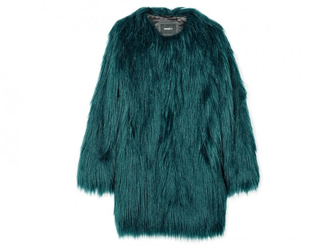 Unreal wanderlust faux fur coat