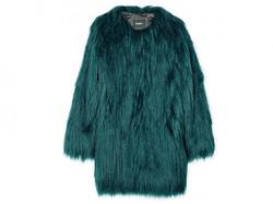 Unreal wanderlust faux fur coat