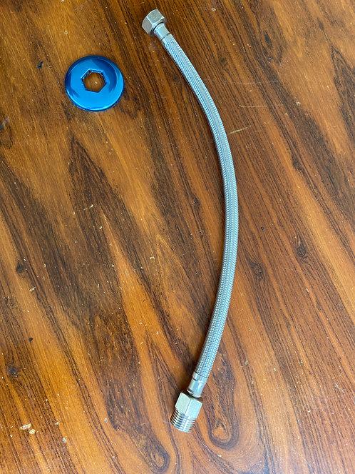 Engate flexível para ducha 40cm e 60cm