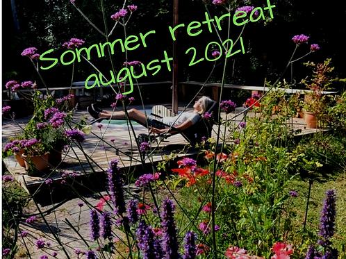 Sommer retreat 2021 - dobbeltrum