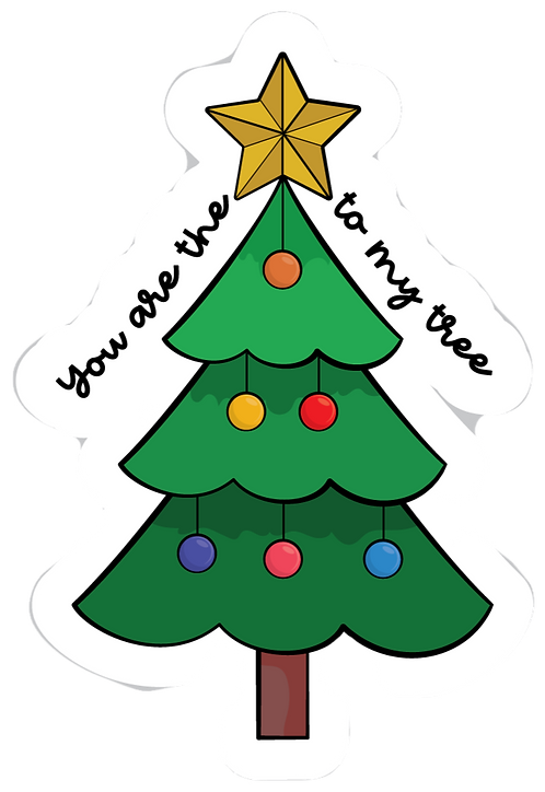 You Are The Star To My Tree Patch