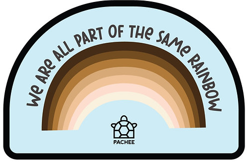 We Are All part of The Same Rainbow Patch