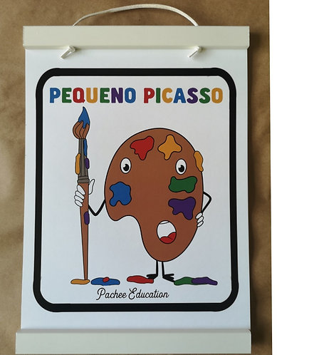 PATCH PRINT- Picasso