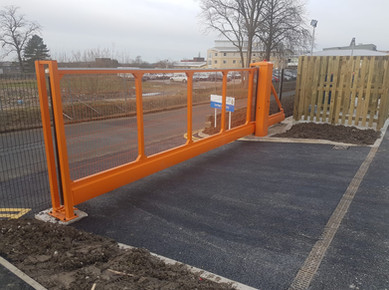 Cantilever Sliding Gate Installed 2019