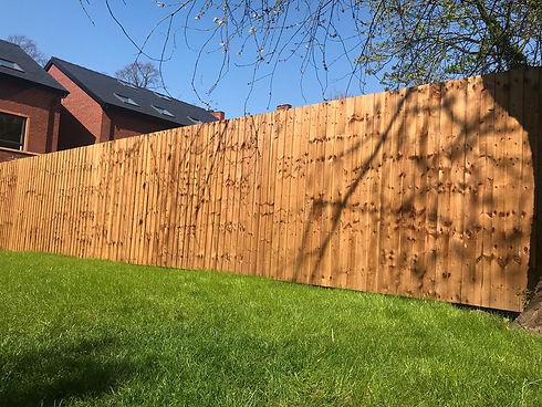 HSF Timber Garden Fence