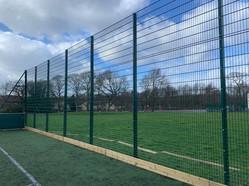 Installation Of HSF Ballcourt