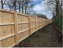 Traditional Timber Hoarding