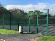 HSF Ballcourt With Access Gates