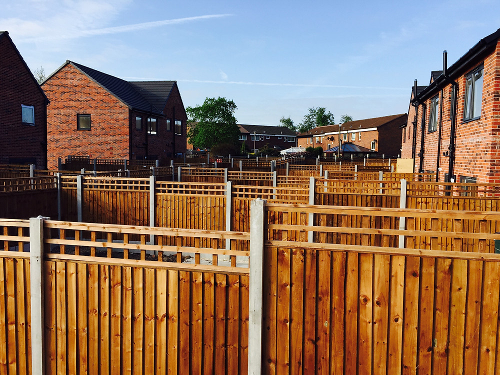 Timber Garden Fence