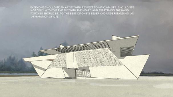 Barjeel Museum for Modern Arab Art in Sharjah, UAE
