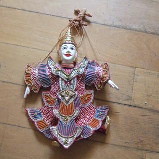 Le petit musée: marionnette Thaïlandaise