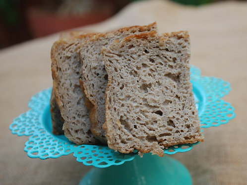 Vegan Gluten Free Brown Rice Bread -400g