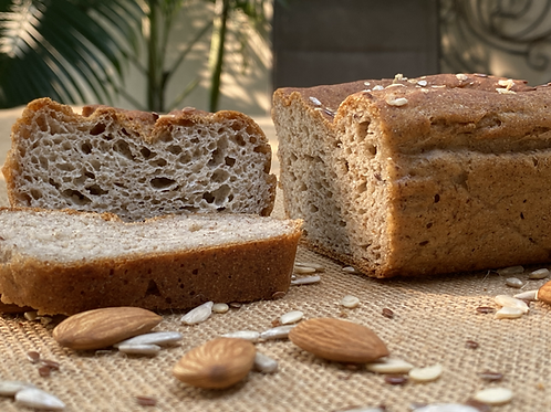 Vegan Gluten Free Mixed Flour Bread -350g