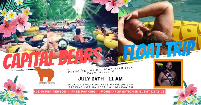 Capital Bears Float Trip - Made with Pos