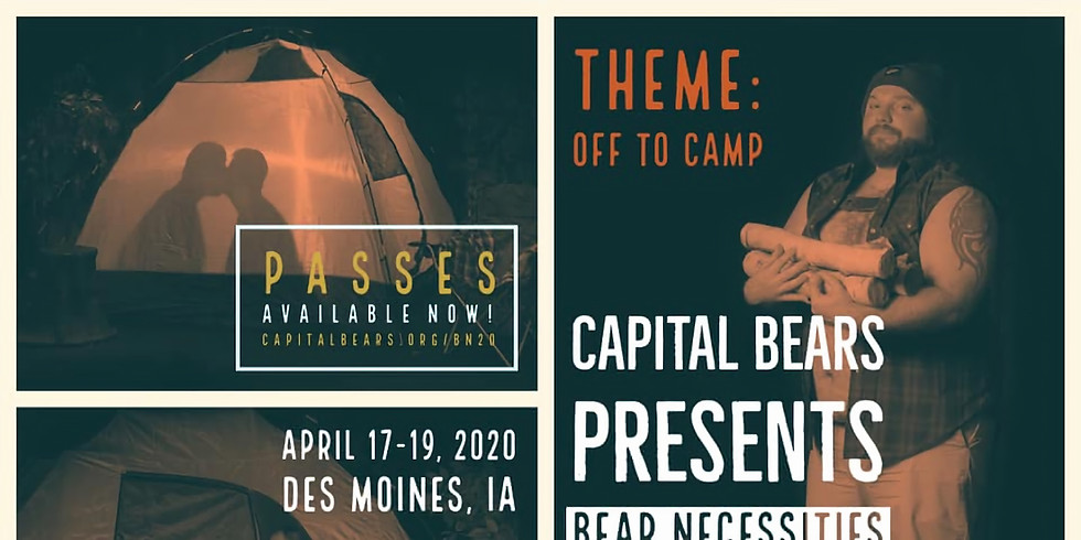 Bear Necessities 2020: Off to Camp