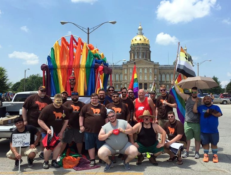 Capital Bears at Capital City Pride