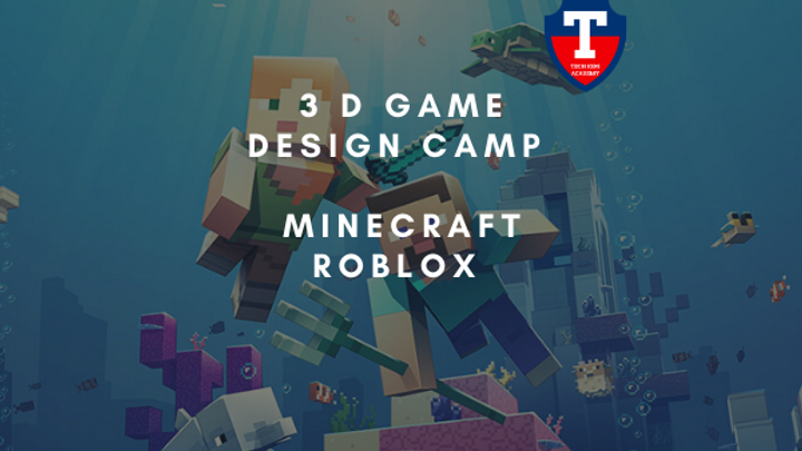 Roblox, Minecraft, 3 D Game Design Camp