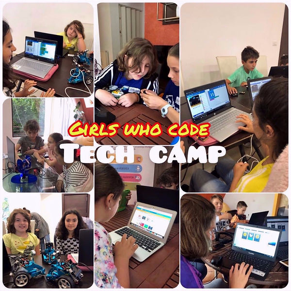 Tabara de robotica si programare pentru fete 8-14 ani